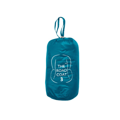 Car Seat Safety Road Coat®Down Jacket - Navy/Teal