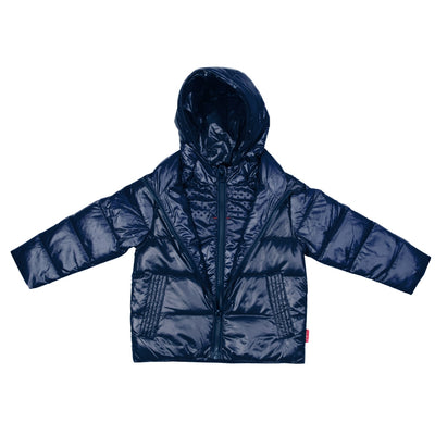Car Seat Safety Road Coat®Down Jacket - Navy