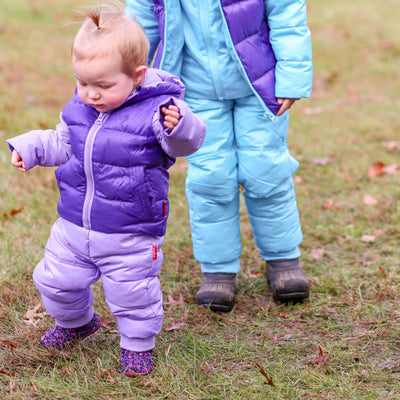 Soft Pack-able Snow Pant - Violet