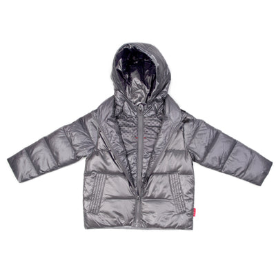 2d0b20e11 Car Seat Safety Road Coat®Down Jacket - Platinum - Onekid