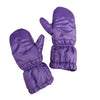 Puff Mittens - Purple
