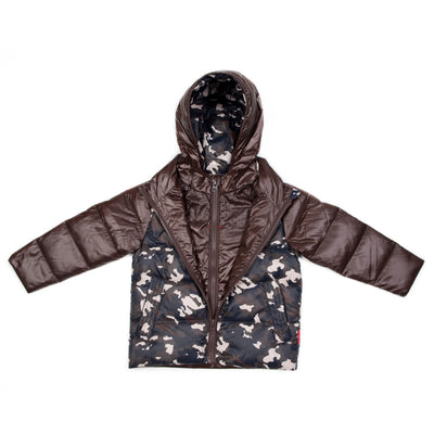 The Road Coat®Down - Brown/Camouflage