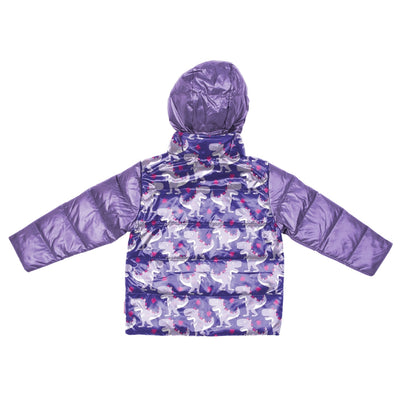 Car Seat Safety Road Coat®Down Jacket - Purple / Raptor