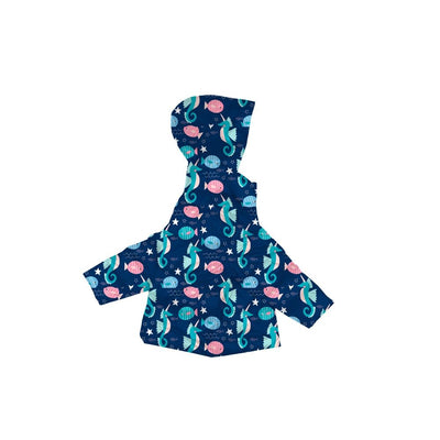 Car Seat Safety Road Coat®Vegan Jacket - SEAHORSE