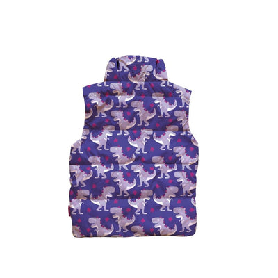 Car Seat Safety Road Coat®Vegan Vest - Purple / Raptor