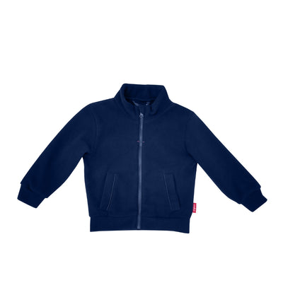 Full Zip Micro Fleece Top - Navy