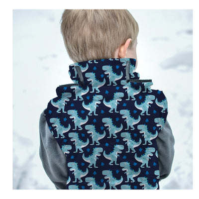 Car Seat Safety Road Coat®Vegan Vest - Navy / Raptor