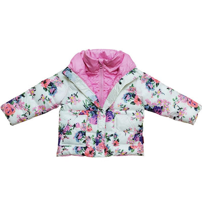 The Road Coat®Vegan - Lt Pink / Flower Print