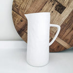 Flax Cermamic Jug (Snow White)