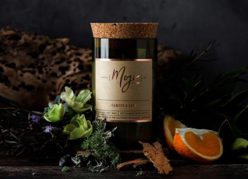 Mojo Candle Oakmoss and Sage