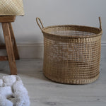 Open Weave Basket - Large