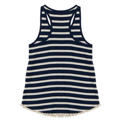 R'belle, Scotch & Soda, Striped tank with tape, navy stripe singlet