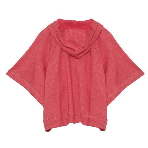 Poncho Hoodie in Watermelon | Paperwings (AUS)
