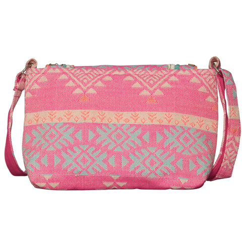 Aztec Cross Body Bag - Pink | Haute Hits (New York)