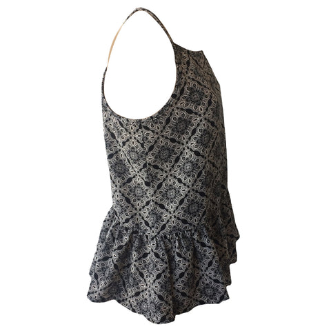 Black & White Aztec Swing Top| Pinc Premium (New York)