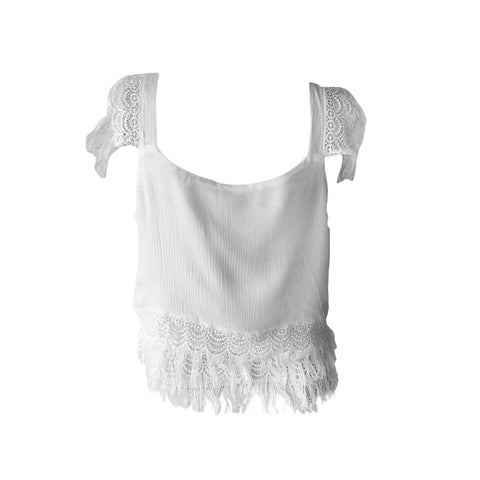 Beach Party Tank in Ivory | Love & Sunflowers (Venice Beach)