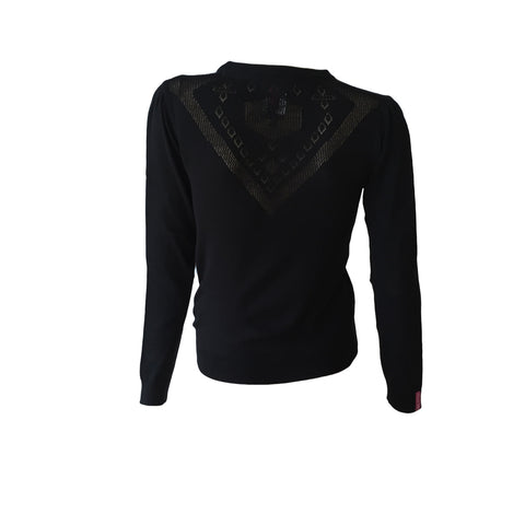Basic Black Knit Cardi | Crush Denim (Netherlands)