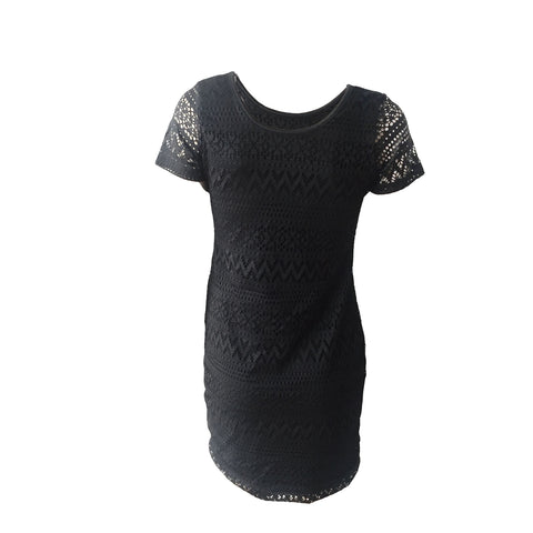 Black Crochet Dress | Cheryl Creations (New York)