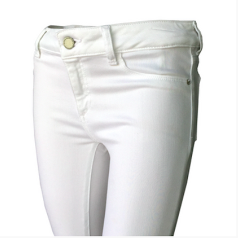 White skinny jeans, chloe snow skinny jeans, DL1961, White jeans, teen fashion