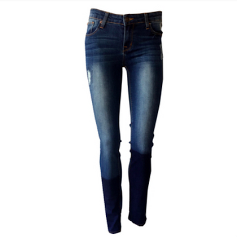 Pool Patchwork Jeans | Hudson (USA)