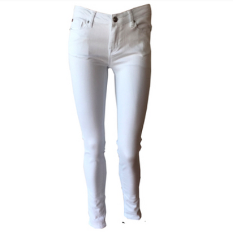 Dolly White Skinny Jean | Hudson (USA)