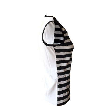 B&W Stripe Tank | Crush Denim (Netherlands)