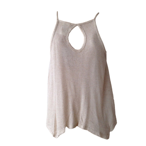 Kiddo, oatmeal tank, white lace top, teen fashion