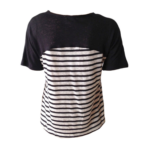 Black & White Basic Striped Tee | Hayden LA (USA)