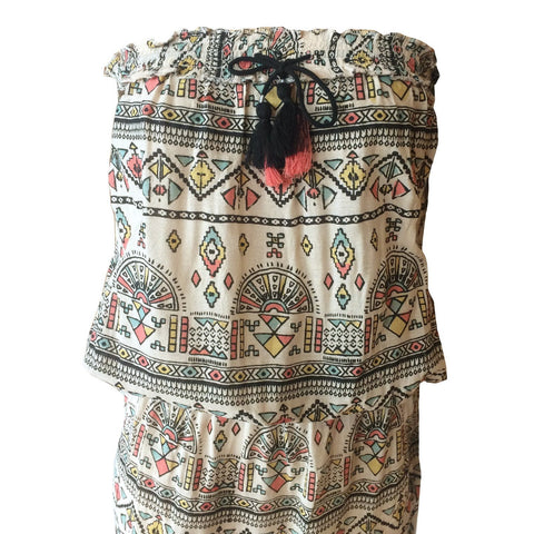 Catalina Aztec Dress | Oh Soleil (Spain) - SIZE 14 ONLY