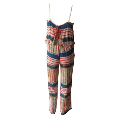 Flared Gypsy Jumpsuit | Vintage Havana (USA)
