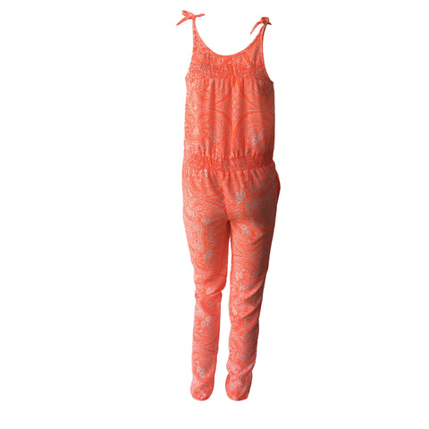 Dalabama Jumpsuit, Fluro Jumpsuit, Orange Neon Jumpsuit, BOAM, teen fashion