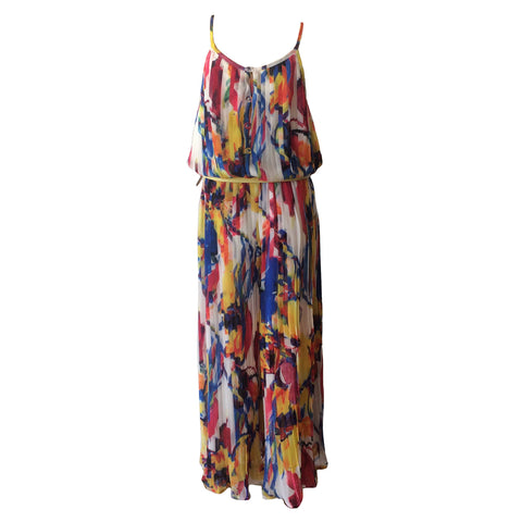 The Fantasy Jumpsuit by Fun + Fun is one of a kind.  Disguised as maxi dress, this beautiful teen jumpsuit is made of viscose making it a stunning piece to look at and to be worn.