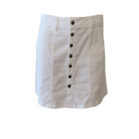 Blanca White Denim Skirt | Oh Soleil (Spain)