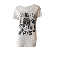 Skull Graffiti Tee | Me.N.U (New York) - SIZE M ONLY