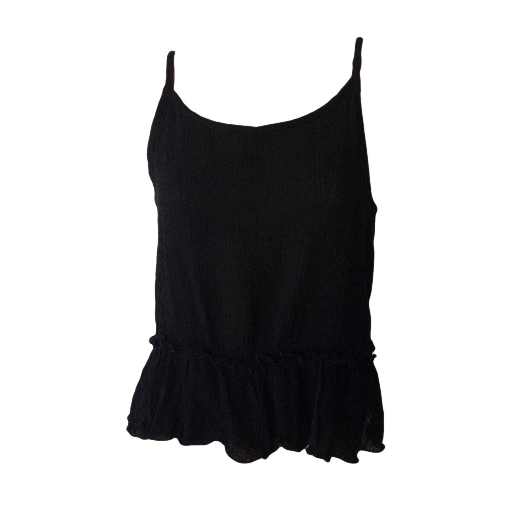Black Swing Tank, Black Cami top, Black swing top, Teen Fashion, Pinc Premium