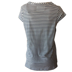 Stripe Tee, V neck stripe tee, stripe graphic tee, CARS jeans, teen fashion