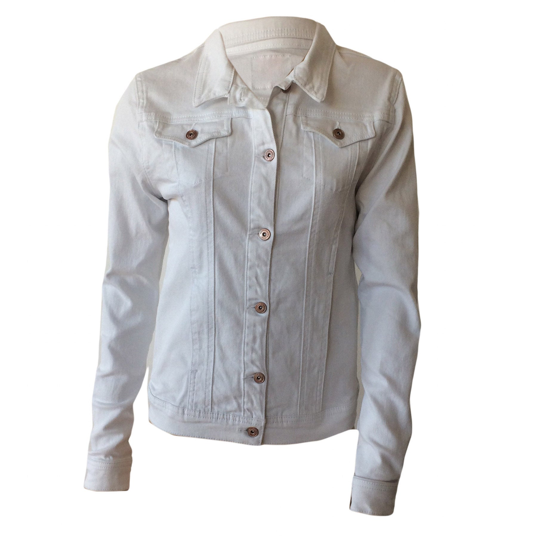 White Denim Jacket, Cars Jeans, Girls White Denim Jacket