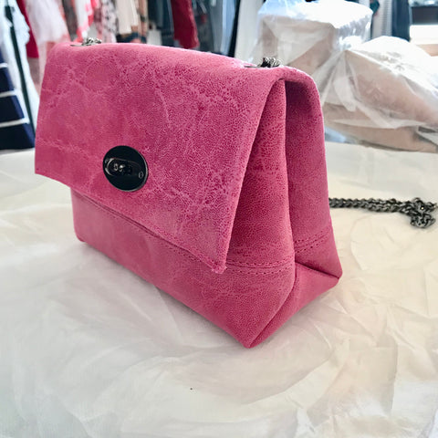 Box Cross Body Bag (Pink) | Sophia Delli (Paris)