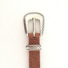 Kidzzbelts, Dutch brand, tan boho belt