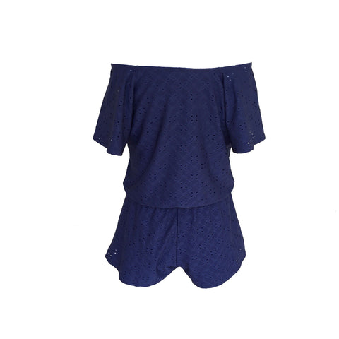 Pinc Premium, navy playsuit, navy romper, teen romper, NY Fashion Label, Navy teen playsuit