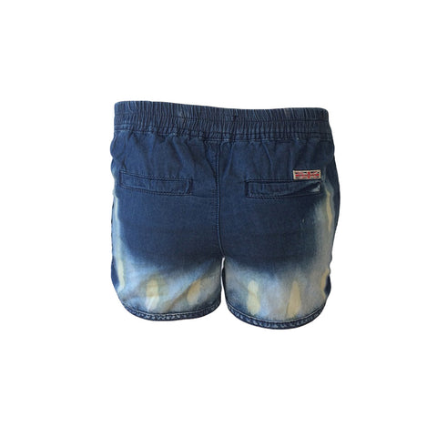 Inkwell Blue Jog Short, Chambray Shorts, Hudson Jeans, Teen Fashion