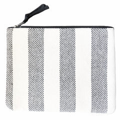 """Poof"" Canvas Clutch 