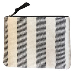 """Look"" Canvas Clutch 