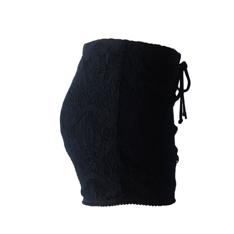 Little Gypsy Crochet Short in Black | Love & Sunflowers (Venice Beach)
