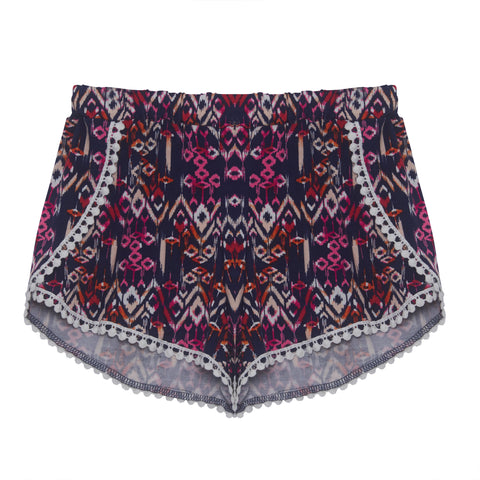 Berry Aztec Shorts | Pinc Premium (USA) - SIZE S ONLY