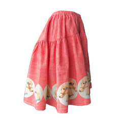 Vintage Border Skirt - Horses | Paperwings (AUS)