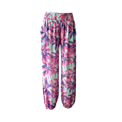 Palm Print Pants | Paperwings (AUS) - SIZE 12 ONLY