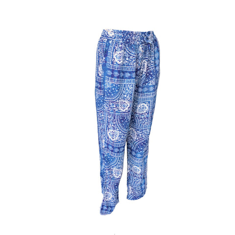 Blue Bandana Pants | Vintage Havana (USA) - SIZE 11/12 ONLY