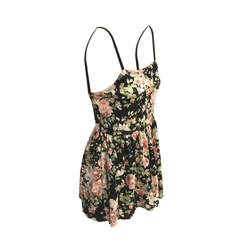 Floral Velvet Romper | Cheryl Creations (New York)