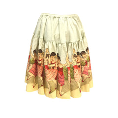 Vintage Border Skirt - Ballerinas | Paperwings (AUS) - SIZE 14/16 ONLY